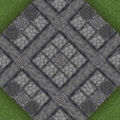 polished basalt goes well with the top of furnaces and blast furnaces - Minecraft Minecraft Banners, Minecraft Castle, Minecraft Medieval, Minecraft Plans, Minecraft Decorations, Minecraft Survival, Minecraft Tutorial, Minecraft Blueprints, Minecraft Creations