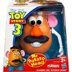 Toy Story 3 Classic Mr Potato Head Figure Disney Pixar 0653569498070 for sale online Toy Story 3, Toy Story Dolls, Disney Pixar, Disney Toys, Disney Crafts, Mr Potato Head, Potato Heads, Toys R Us, Kids Toys