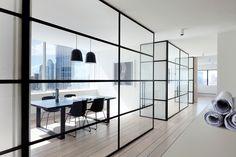 MINIMAL internal windows. Workplace Design Award, Slattery Australia by Elenberg Fraser