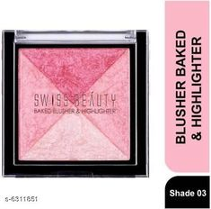 Checkout this latest Highlighter Product Name: *Beauty Face Blusher and Highlighter* Product Name: Beauty Face Blusher and Highlighter Type: Highlighter Brand:Face Highlighter Capacity: 8 gm Finish: Shimmer Finish Multipack: Pack of 1 Country of Origin: India Easy Returns Available In Case Of Any Issue   Catalog Rating: ★4.3 (1559)  Catalog Name: Beauty Face Blusher and Highlighter CatalogID_1002902 C173-SC1992 Code: 932-6311851-705