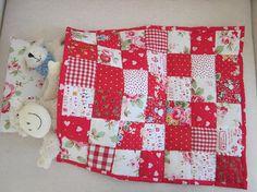 Handmade  Patchwork Quilt Dolls Quilt - Custom Order for Kristine.