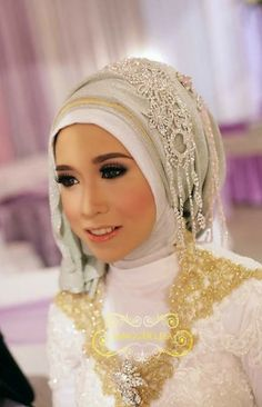 simple #hijabwedding #muslimbride