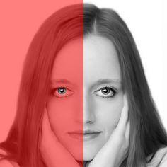 Ilusión óptica – ¿Son del mismo color los ojos de la mujer? | Curiosidades
