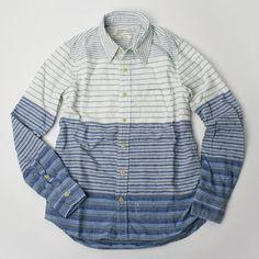 REMI RELIEF : コットンマルチボーダーシャツ   Sumally (サマリー)