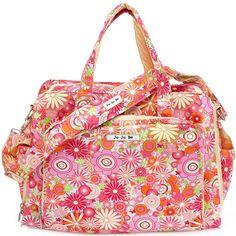 Ju-Ju-Be Be Prepared Diaper Bag - Zany Zinnias - Best Price