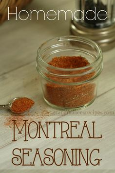 // // One thing I love to do is to make my own seasoning mixes. My latest concoction is Montreal Seasoning. Sure, I could buy this in a jar or a packet, but when I make my own, I can control the in…