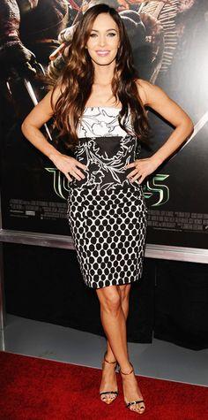 Megan Fox's Best Red Carpet Looks - In Oscar de la Renta from #InStyle