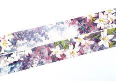 Lily washi tape T0097 by Meowashitape on Etsy