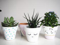 Customiser un pot facilement avec de la peinture