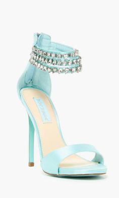 BETSEY JOHNSON                                                                                                                     Marry Embellished Sandal                                                                                                                    ❦~HeadOverHeels~❦
