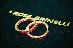 #серьги #RoseBrinelli #красный #украшение #бижутерия #стиль