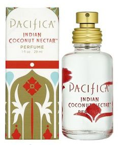Indian Coconut Nectar by Pacifica - Smells like cake with vanilla frosting sprinkled with coconut