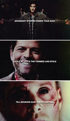 You think it's easier To give up on the trouble If the trouble is destroying you #spn