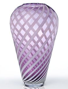 Waterford Evolution Urban Safari Striped Vase from Crystal Classics