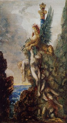 Gustave Moreau | The Victorious Sphinx, 1886