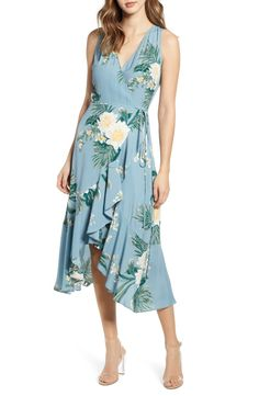 online shopping for Leith Flounce Wrap Midi Dress from top store. See new offer for Leith Flounce Wrap Midi Dress Formal Nursing Dress, Nursing Dress For Wedding, Best Wedding Guest Dresses, Junior Summer Dresses, Junior Formal Dresses, Dresses Near Me, Dresses For Sale, Amazon Dresses, Midi Dresses Online