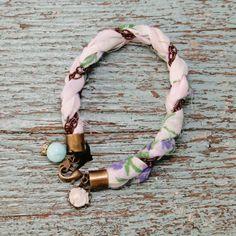 DIY Sweet Hankie Bracelets - My So Called Crafty Life