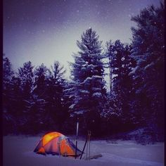 Not for frostbite: Winter camping in Ontario Ontario Travel – Famous Last Words Snow Camping, Camping In Ohio, Cold Weather Camping, Best Tents For Camping, Kayak Camping, Winter Camping, Camping Hacks, Outdoor Camping, Ontario Travel