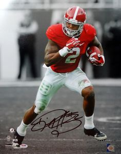 Derrick Henry Autographed 16x20 Photo Alabama Crimson Tide PSA/DNA ITP