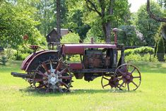 VTZ Tractor Universal - Minest Retked Cannon, Tractors, Landscapes, Industrial, Paisajes, Scenery, Industrial Music