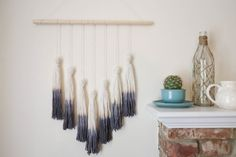 Ombre Tassel Wall Hanging