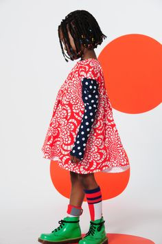 BOdeBO kid fashion WINTER 14/15 dress and top with dots