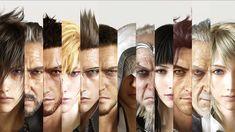 Final Fantasy XV Cast Wallpaper