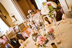 Loose Mansion | Table Scape | KC Weddings | Abbey Leigh Photography