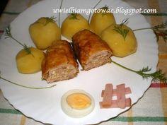Kotlety mazurskie Baked Potato, French Toast, Potatoes, Baking, Breakfast, Ethnic Recipes, Food, Morning Coffee, Potato