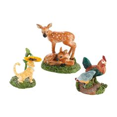 Department 56 Decorative Accessories for Village Collections, My Garden Friends General Accessory, 1.18-Inch *** Tried it! Love it! Click the image. : Christmas Decorations