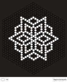 Large hexagon pinboard