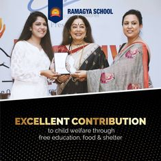 Thank you for acknowledging the efforts of Ramagya School in this direction. Much appreciated!