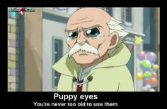 Makarov will be the only one who is never to old to use them! XD