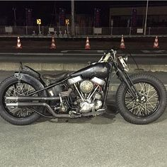 """chopcult: """" Check out this killer from """" Panhead Sportster Chopper, Harley Bobber, Bobber Motorcycle, Custom Motorcycles, Custom Bikes, Woodstock, Classic Harley Davidson, Motor Scooters, Hot Bikes"""