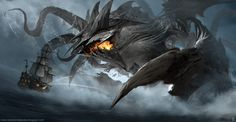 Leviathan by ramsesmelendeze.deviantart.com on @DeviantArt