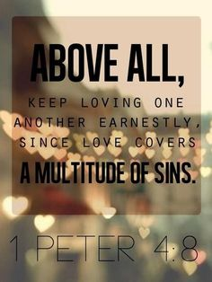 1 Peter 4.8