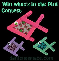 Win What's in the Pin Contest on www.daniellesplace.com www.daniellesplace.com