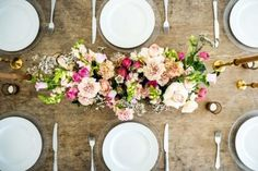 Floral Garland - Adore Weddings Floral Garland, Centrepieces, Flower Vases, Banquet, Colorful Flowers, Peach, Table Decorations, Weddings, Collection