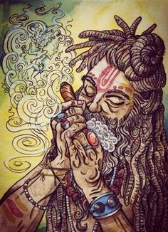 Image shared by Sol Ordenavia. Find images and videos about weed, dreadlocks and rasta on We Heart It - the app to get lost in what you love. Anime Art Fantasy, Dope Kunst, Marijuana Art, Cannabis Oil, Stoner Art, Weed Art, Psy Art, Hippie Art, Illustration