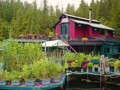 Em duas décadas, casal de canadenses constrói ilha flutuante
