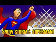 We had a big snow this week! We also made a Harlem Shake video and I talk about Superman. I didn't build a Fortress of Solitude, but I would have if I had thought to. Finally, I introduce some of my Mensa friends.