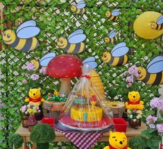 Winnie the Pooh Birthday Party Ideas | Photo 1 of 20