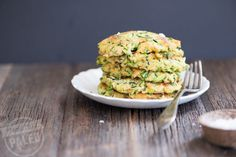 Paleo Zucchini Fritters | stupideasypaleo.com