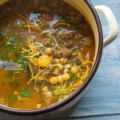 Marocká polévka Harira - recept krok 7