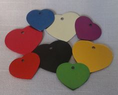 Heart ID Tag for Dogs or Cats