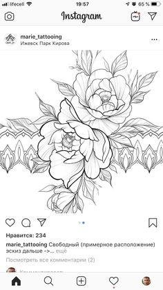Tattoo Drawings, Print Tattoos, Art Drawings, Calligraphy Print, Black Ink Tattoos, Marquetry, Flower Tattoos, Hana, Tattos