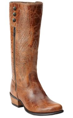 Ariat® Uproar™ Women's Gingersnap Fashion R-Toe Boots