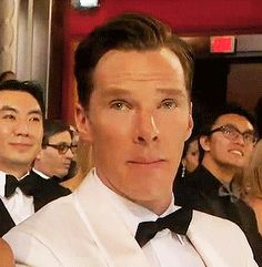 Benedict Cumberbatch @ the 2015 Oscar's
