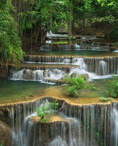 Google+ natural waterfalls