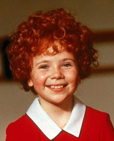 """Aileen Quinn in """"Annie"""" (1982). COUNTRY: United States. DIRECTOR: John Huston."""